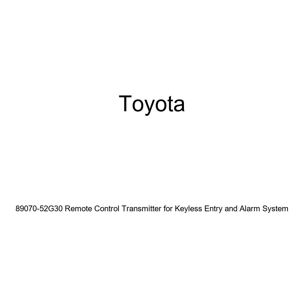 Toyota 89070-52G30 Remote Control Transmitter for Keyless Entry and Alarm System