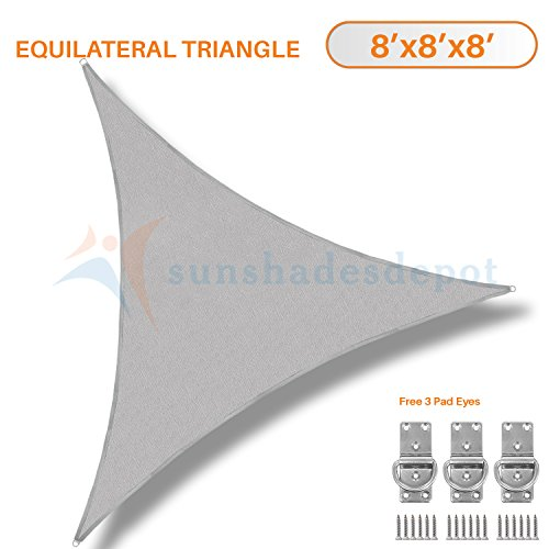 Sunshades Depot Equilateral Permeable Commercial product image
