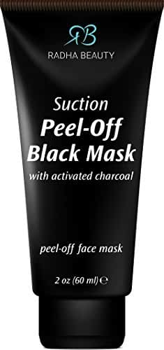 Blackhead Remover Peel Off Mask - Natural Charcoal Mask for Face and Nose