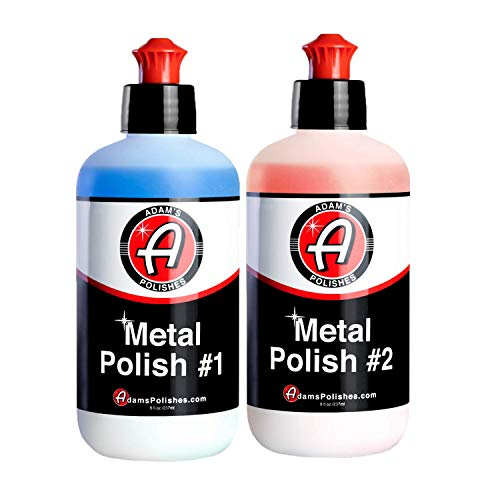 Adam's Metal Polish - for Aluminum, Chrome, Stainless, Uncoated Metals & Other Auto Part Accessories...