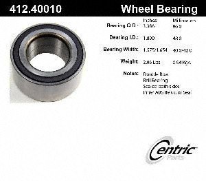 Centric 412.40010E Front Wheel Bearing
