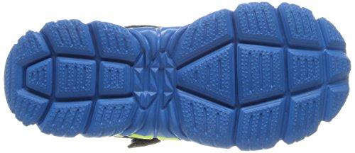 Skechers Tough Trax - Zapatillas de Deporte de cuero niño azul - Bleu (Nvbl)