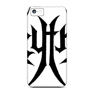 Bumper Hard Cell-phone Case For Iphone 5c (cUp9894AWzZ) Customized Colorful Bathory Band Series