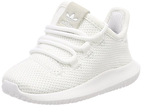 adidas Tubular Shadow I, Zapatillas de Deporte Unisex Niños Blanco (Ftwbla/Negbas/Ftwbla 000)