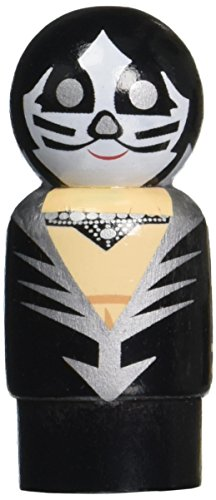 Bif Bang Pow! KISS Destroyer The Catman Pin Mate Wooden Figure (Adult Kiss The Catman Costume)