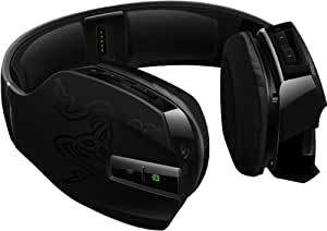 Razer Chimaera 7.1 - Auriculares Gaming de diadema cerrados para Xbox 360 (con micrófono, inalámbrico, control remoto integrado, 105 dB, 32 Ohmio, soporta 5.1 canales), color negro