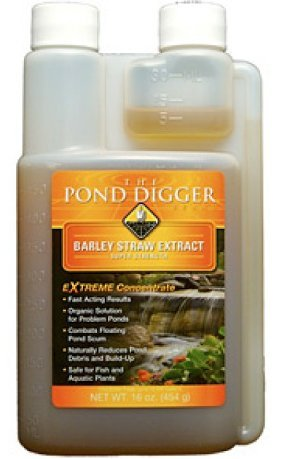 The Pond Digger Liquid Barley Straw Extract - 16oz by Helix Life Support