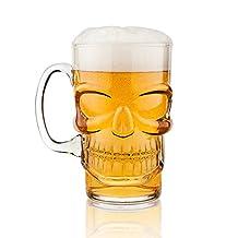 Final Touch Brain Freeze Skull Beer Mug
