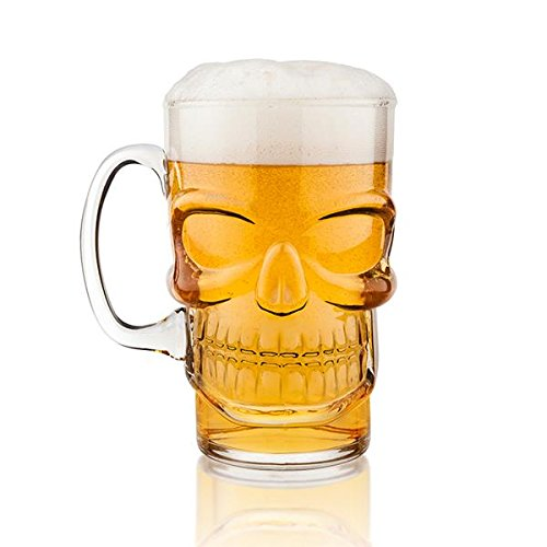 Final Touch Brain Freeze Skull Beer Mug