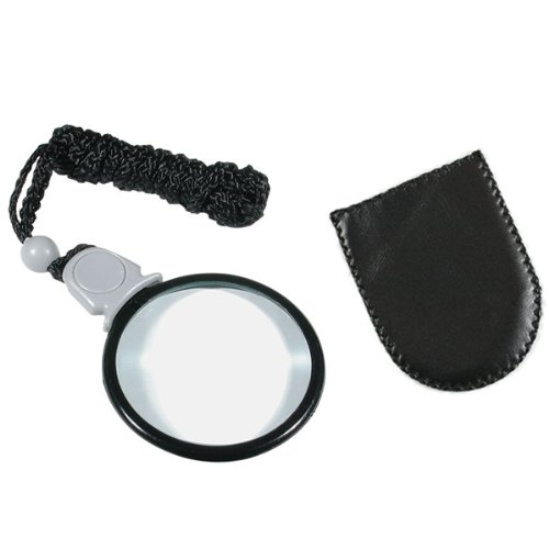 MAGNIFYING AIDS UltraOptix Lightweight Portable 4X Magnifier by MAGNIFYING AIDS