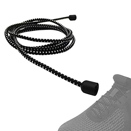 CalMyotis Elastic Shoe Laces for Kids and Adults, No Tie Shoelaces with Metal Turnbuckle for Sneakers