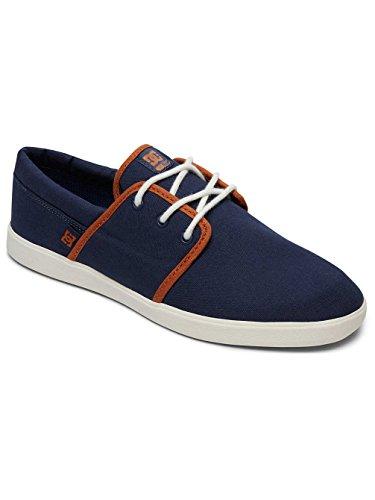DC Men's Herren Schuhe Haven Skateboarding Shoes, Navy/Camel, 7 UK Navy/Dk Chocolate
