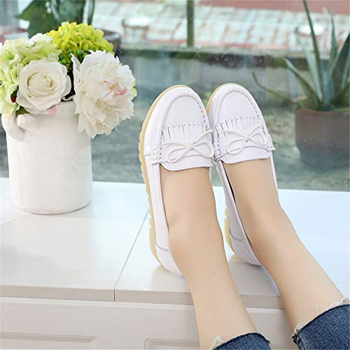 FLYRCX shoes work shoes shoes D bottom casual office shoes slip comfortable flat non Ms soft leather r6Rqrf