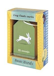 Ring Flash Cards Spanish/English