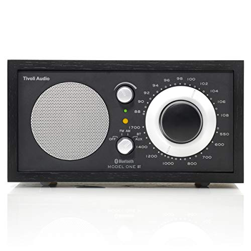 (Tivoli Audio M1BTBBS Model One BT Bluetooth AM/FM Radio (Black Ash/Black Silver))