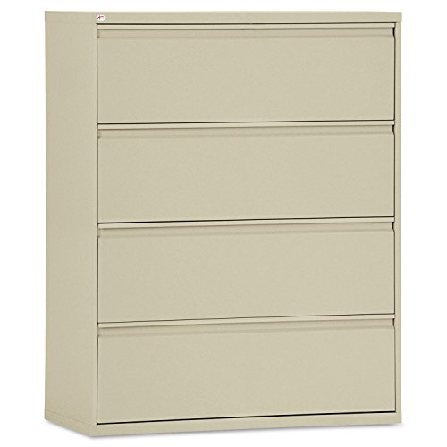 ur-Drawer Lateral File Cabinet, 42w x 19-1/4d x 53-1/4h, Putty (Full Suspension File 3 Drawer)