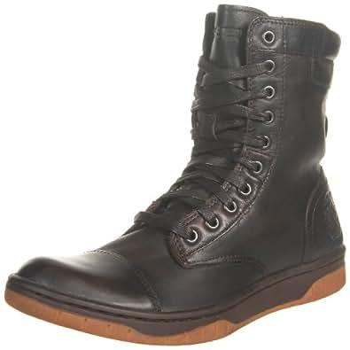 Diesel Men's Basket Butch Boot,Coffee Bean,7 M US
