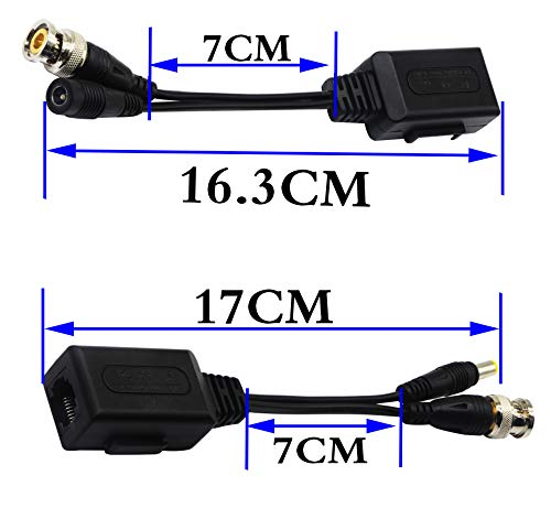 Buy spt 15-u1010 passive power and video balun black