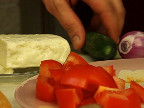 Clip: Greek Country Salad with Haloumi
