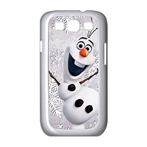 Samsung Galaxy S3 9300 Cell Phone Case White Olaf Frozen R4J7JA