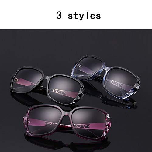 B Extragrandes Protección Zhyxj Uv Cómoda sunglasses De Bloqueo Gafas Contra Sol Color Visión Real Para Polarizadas Mujeres Rayos U00T8wx