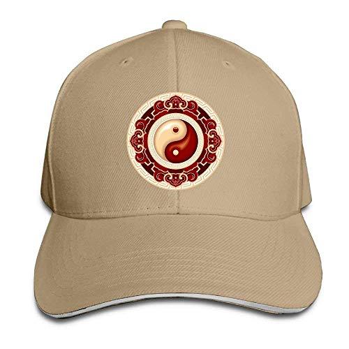 Hat Yin Yang Denim Skull Cap Cowboy Cowgirl Sport Hats Men Women
