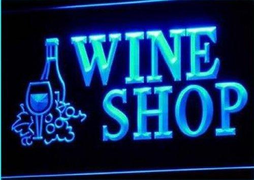 Open Wine Shop Bar Pub Club Neon Light Sign