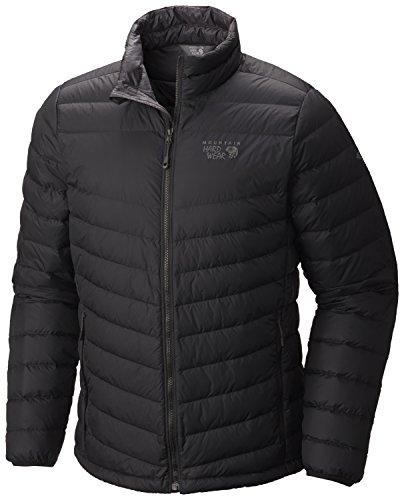 Mountain Hardwear Micro Ratio Down Jacket - Men's Black X-Large