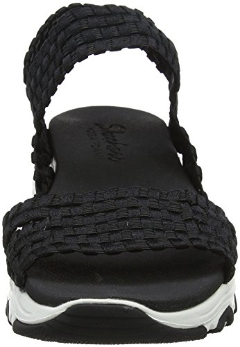 Skechers Kvinder D'lites-hoved Spin Romerske Sandaler Sandaler Sort (sort) n5Jzkn