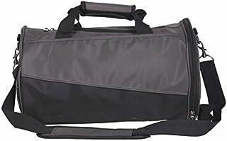 KinTTnyfgi Unisexe Sac de Sport de Grande capacité en Nylon Sports Holdall Travel Weekender Duffel Bag (Noir) pour Work Work Workout
