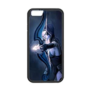 Dota2 DROW RANGER iPhone 6 Plus 5.5 Inch Cell Phone Case Black 82You389935