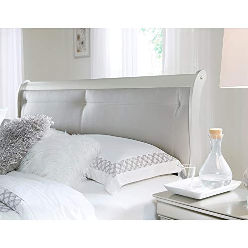 Amazon.com: Global Furniture USA S-KB Marley King Bed Silver: Kitchen & Dining