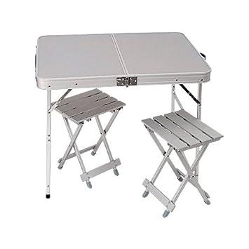 amazon com liberty mountain 2 person folding table w chairs