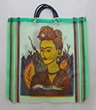 Mexican Market Bag Reusable Recyclable Shopping Bag Tote Frida Kahlo # 25