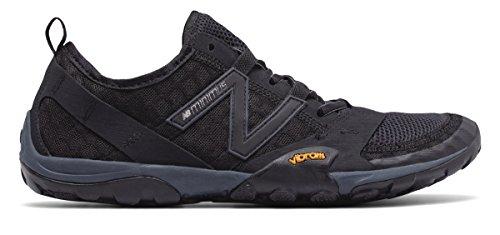 (ニューバランス) New Balance 靴?シューズ メンズランニング Minimus 10v1 Trail Black with Silver ブラック シルバー US 7 (25cm)