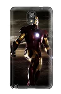 6995158K79495118 Awesome Design Iron Man Hard Case Cover For Galaxy Note 3