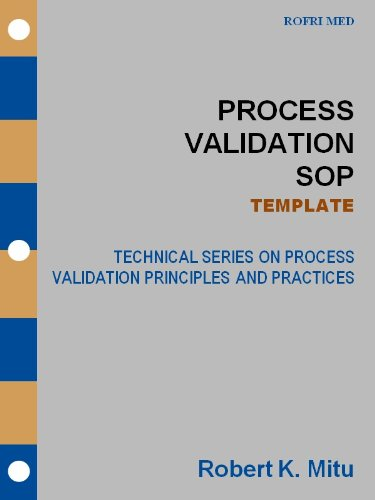 Process Validation SOP TEMPLATE Technical Series On Process - Sop template