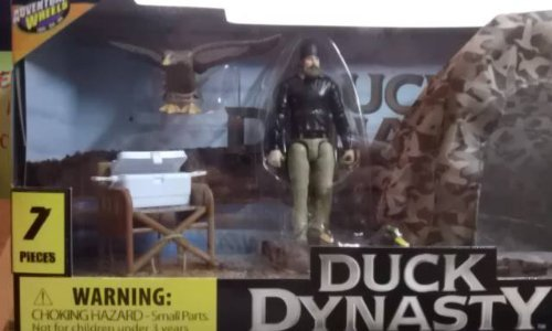 Adventure Wheels Duck Dynasty Set With Jase and Tent