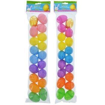 Plastic Golden Egg Hunt Kits - 2 Packs Of 18-pc.