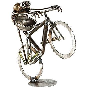 Amazon.com: sugarpost chatarra Gnome ser Gone Mini bicicleta ...
