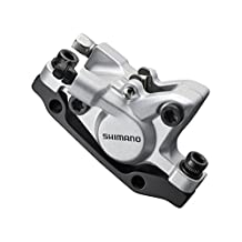 Shimano Deore BR-M446 disc brake calliper, without adapter for front or rear, silver