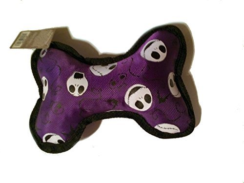Toy Canvas Bone - Nightmare Before Christmas Jack dog toy canvas bone (Purple)