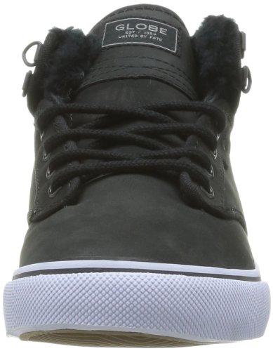 Taglia noir Sneaker Globe black Sneaker Nero 20003 Fur HERPOw