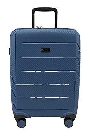 QANTAS London 56cm Wheelaboard Carry-on (Steel Blue) (QF789-56-B)