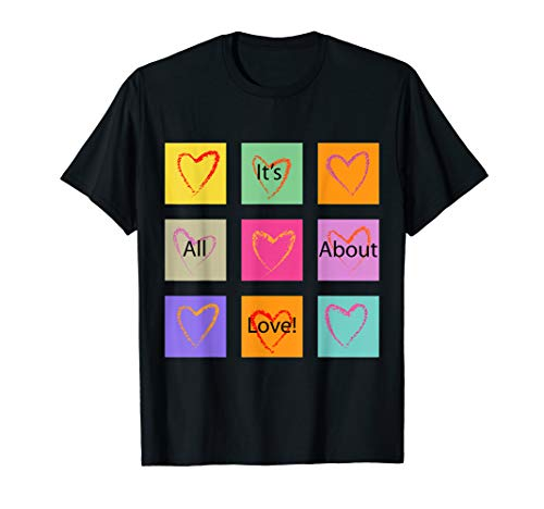 LovingTees It's All About Love Graphic T-shirt