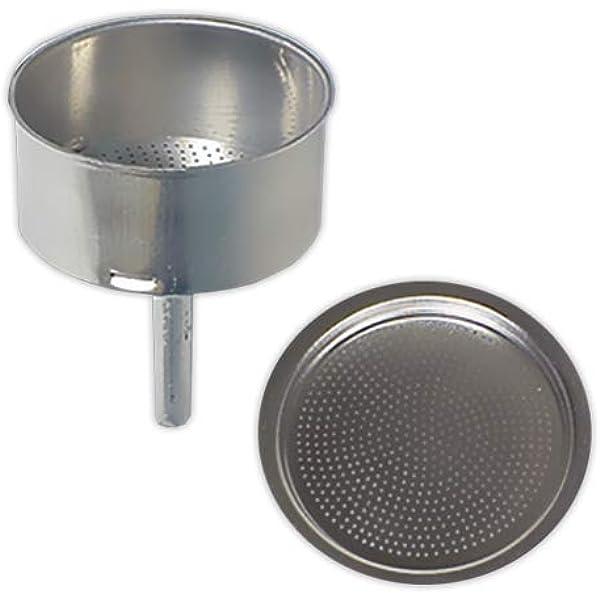 Oroley - Recambio Embudo Cafetera Italiana de Aluminio, 12 Tazas ...