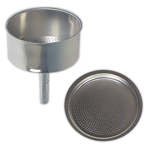 Embudo + Filtro cafetera 12 tazas | TECNHOGAR diámetro 80 mm: Amazon.es: Industria, empresas y ciencia