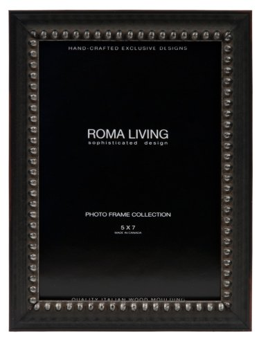 """Metro Picture Frame Color: Black Iron, Size: 5"""" x 7"""""""
