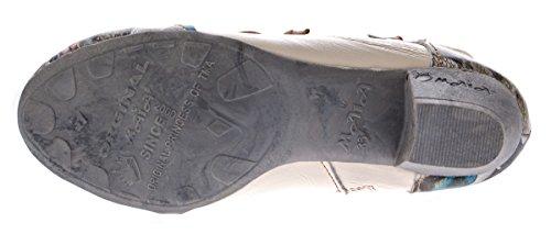 TMA - botines de caño bajo Mujer blanco/crema