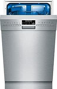 Siemens iQ500 SR456S00PE lavavajilla Semi-incorporado 9 cubiertos ...